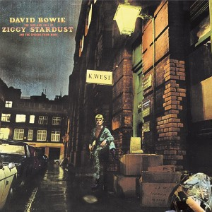 DAVID BOWIE-THE RISE AND FALL OF ZIGGY STARDUST AND THE SPIDERS FROM MARS