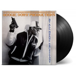 BOOGIE DOWN PRODUCTIONS-BY ALL MEANS NECESSARY