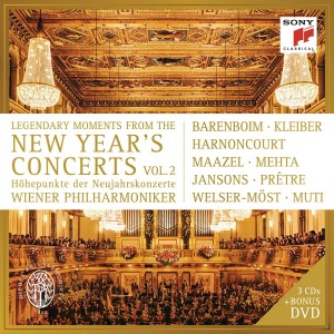 VARIOUS-LEGENDARY MOMENTS FROM THE NEW YEAR´S CONCERTS, VOL. 2