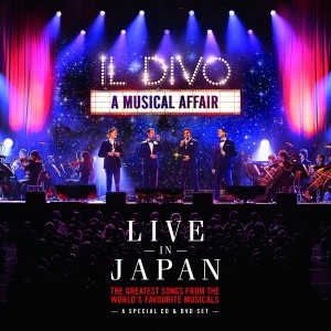 IL DIVO-A MUSICAL AFFAIR LIVE IN JAPAN
