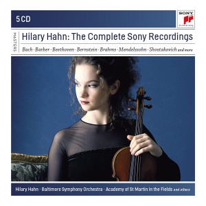HILARY HAHN-HILARY HAHN - THE COMPLETE SONY RECORDINGS