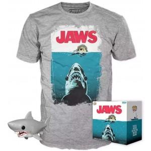 FUNKO POP! JAWS FIGURE & SHIRT SIZE L
