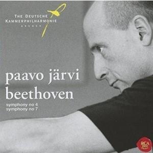 PAAVO JÄRVI-BEETHOVEN: SYMPHONIES NOS. 4 & 7