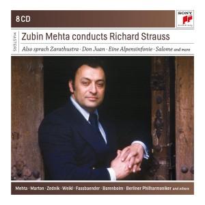 ZUBIN MEHTA-ZUBIN MEHTA CONDUCTS RICHARD STRAUSS