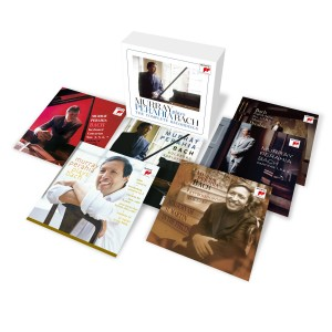 MURRAY PERAHIA-PLAYS BACH - THE COMPLETE RECORDINGS (8CD)