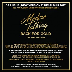 MODERN TALKING-BACK FOR GOLD