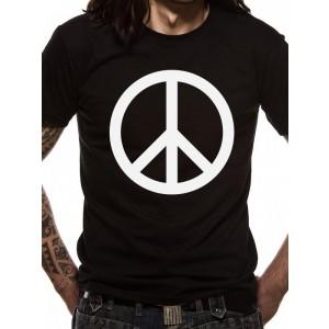 PEACE SYMBOL BLACK M