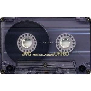 JVC UFII-60 BLANK CHROME CASSETTE