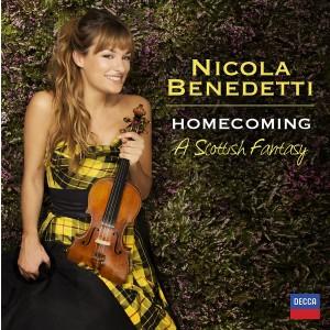 NICOLA BENEDETTI-HOMECOMING - A SCOTTISH FANTASY