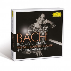ROSALYN TURECK-BACH, J.S.: THE WELL-TEMPERED CLAVIER, BWV 846–893; GOLDBERG VARIATIONS, BWV 988