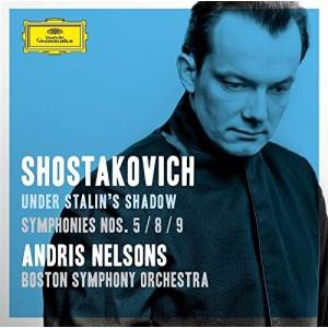 BOSTON SYMPHONY ORCHESTRA, ANDRIS NELSONS-SHOSTAKOVICH: SYMPHONY NOS. 5, 8 & 9; INCIDENTAL MUSIC TO HAMLET