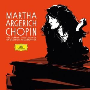 MARTHA ARGERICH-COMPLETE CHOPIN RECORDINGS ON DEUTSCHE GRAMMOPHON