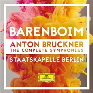 STAATSKAPELLE BERLIN, DANIEL BARENBOIM-BRUCKNER: THE COMPLETE SYMPHONIES