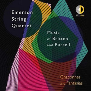 EMERSON STRING QUARTET-CHACONNES AND FANTASIAS: MUSIC OF BRITTEN AND PURCELL