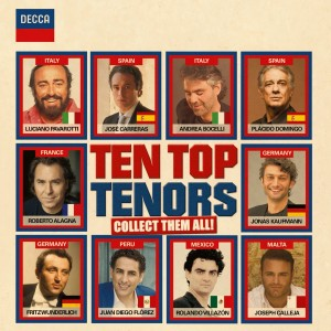 VARIOUS ARTISTS-TEN TOP TENORS