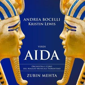 ANDREA BOCELLI, KRISTIN LEWIS, VERONICA SIMEONI, ORCHESTRA DEL MAGGIO MUSICALE FIORENTINO, ZUBIN MEHTA-VERDI: AIDA