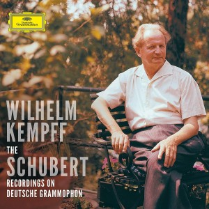 WILHELM KEMPFF-COMPLETE SCHUBERT SOLO RECORDINGS ON DEUTSCHE GRAMMOPHON