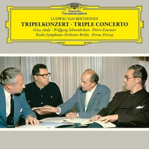 GÉZA ANDA, WOLFGANG SCHNEIDERHAN, PIERRE FOURNIER, RADIO-SYMPHONIE-ORCHESTER BERLIN, FERENC FRICSAY-BEETHOVEN: TRIPLE CONCERTO