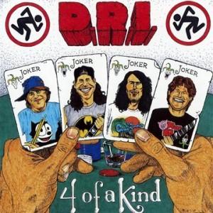 D.R.I.-FOUR OF A KIND