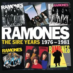 RAMONES-SIRE YEARS 1976-1981