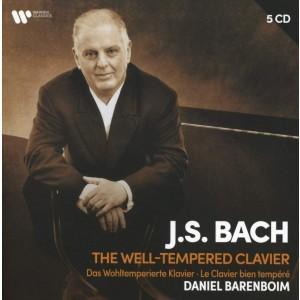 DANIEL BARENBOIM-BACH: THE WELL-TEMPERED CLAVIE