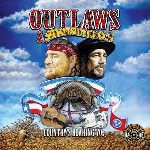 VARIOUS ARTISTS-OUTLAWS & ARMADILLOS: COUNTRY´S ROARING 70´S
