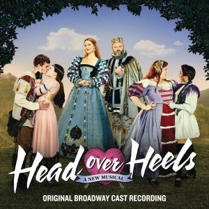 MUSICAL-HEAD OVER HEELS (ORIGINAL BROADWAY CAST RECORDING)