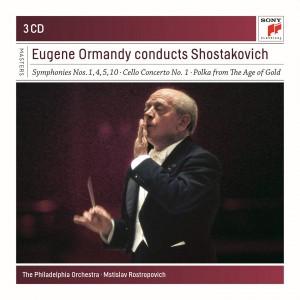 EUGENE ORMANDY-CONDUCTS SHOSTAKOVICH