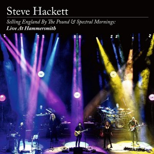 STEVE HACKETT-SELLING ENGLAND BY THE POUND & SPECTRAL MORNINGS: LIVE AT HAMMERSMITH (LTD ARTBOOK)
