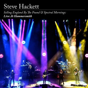 STEVE HACKETT-SELLING ENGLAND BY THE POUND & SPECTRAL MORNINGS: LIVE AT HAMMERSMITH (2CD+BLU-RAY)