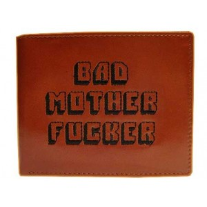 PULP FICTION BAD MOTHER FUCKER WALLET BROWN
