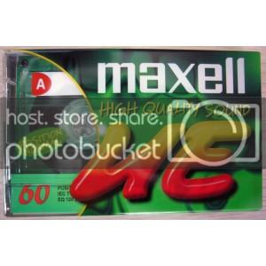 MAXELL UE-60 RECORDING CASSETTE