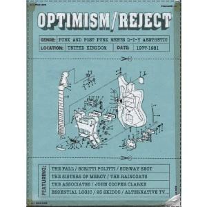 VARIOUS ARTISTS-OPTIMISM/REJECT: PUNK AND POST PUNK MEETS DIY