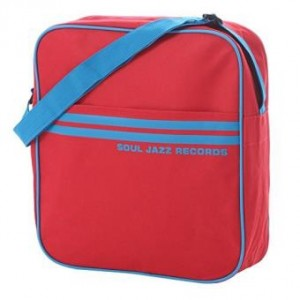 "SOUL JAZZ RED/BLUE PIPING 12"" BAG"