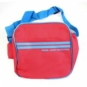 "SOUL JAZZ RED/BLUE PIPING 7"" BAG"