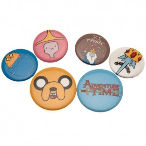 ADVENTURE TIME BADGE PACK