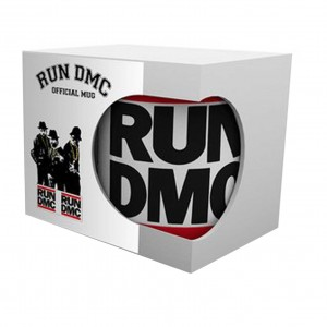 RUN DMC WHITE MUG