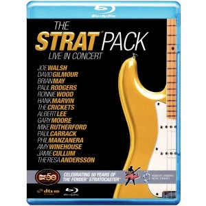 VARIOUS ARTISTS-THE STRAT PACK LIVE - THE 50TH ANNIVERSARY OF THE FENDER STRATOCASTER LIVE AT WEMBLEY ARENA