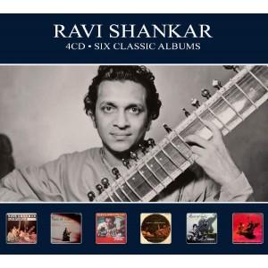 RAVI SHANKAR-SIX CLASSIC ALBUMS