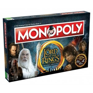 LORD OF THE RINGS-MONOPOLY (ENGLISH VERSION)