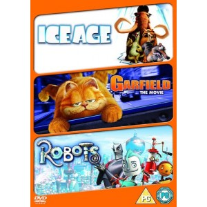 ROBOTS / ICE AGE / GARFIELD - THE MOVIE