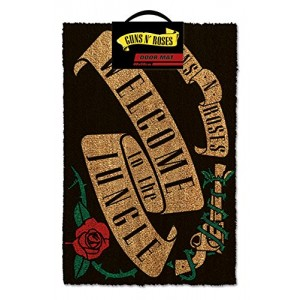 GUNS´N´ROSES WELCOME TO THE JUNGLE DOORMAT