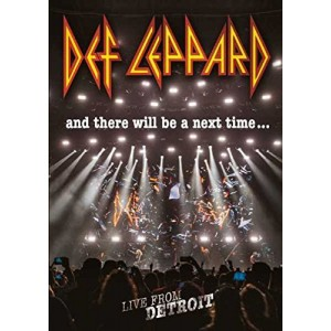 DEF LEPPARD-AND THERE WILL BE A NEXT TIME... LIVE FROM DETROIT DLX