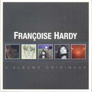 FRANCOISE HARDY-5 ALBUMS ORIGINAUX