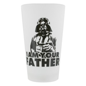 STAR WARS I AM YOUR FATHER LARGE GLASS