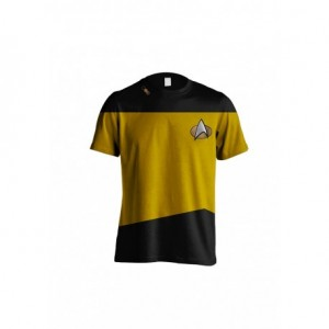 STAR TREK - COMMAND COSTUME MEN T-SHIRT: M