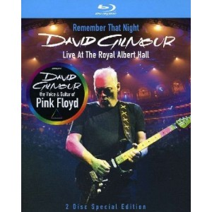 DAVID GILMOUR-REMEMBER THAT NIGHT (BLU-RAY)