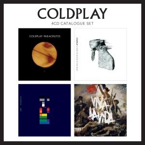 COLDPLAY-4CD CATALOGUE SET