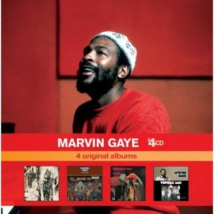 MARVIN GAYE-4 ORIGINAL ALBUMS