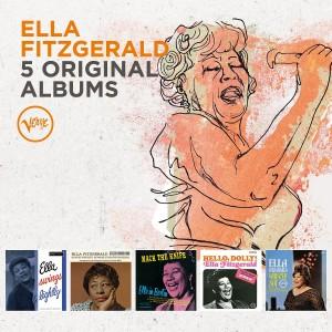 ELLA FITZGERALD-5 ORIGINAL ALBUMS